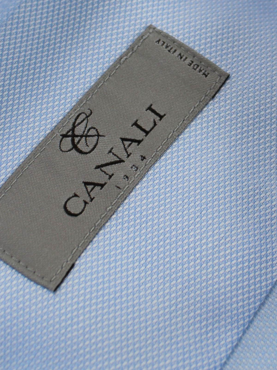 Canali Dress Shirt Light Blue - Slim Fit