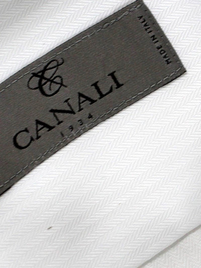Canali Dress Shirt White - Slim Fit