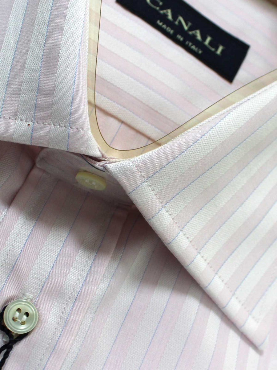 Canali Dress Shirt Pink