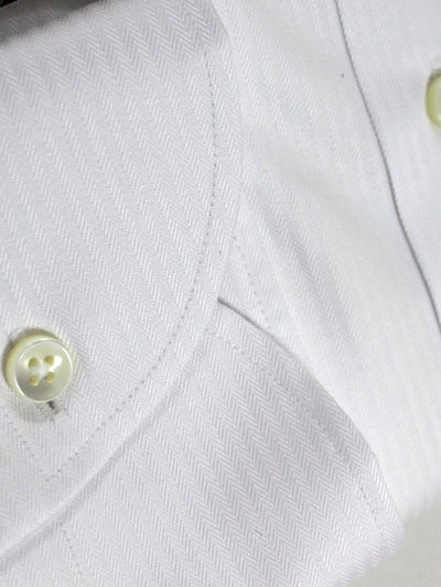 Canali Dress Shirt White - Slim Fit 40 - 15 3/4