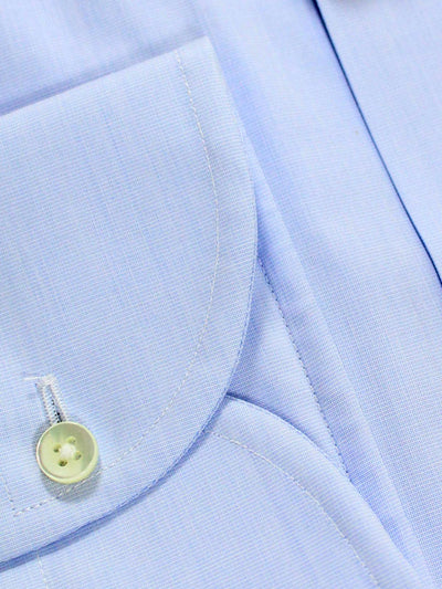 Canali Dress Shirt Light Blue Slim Fit Impeccable 41 - 16