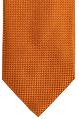 Rust Orange Canali Tie