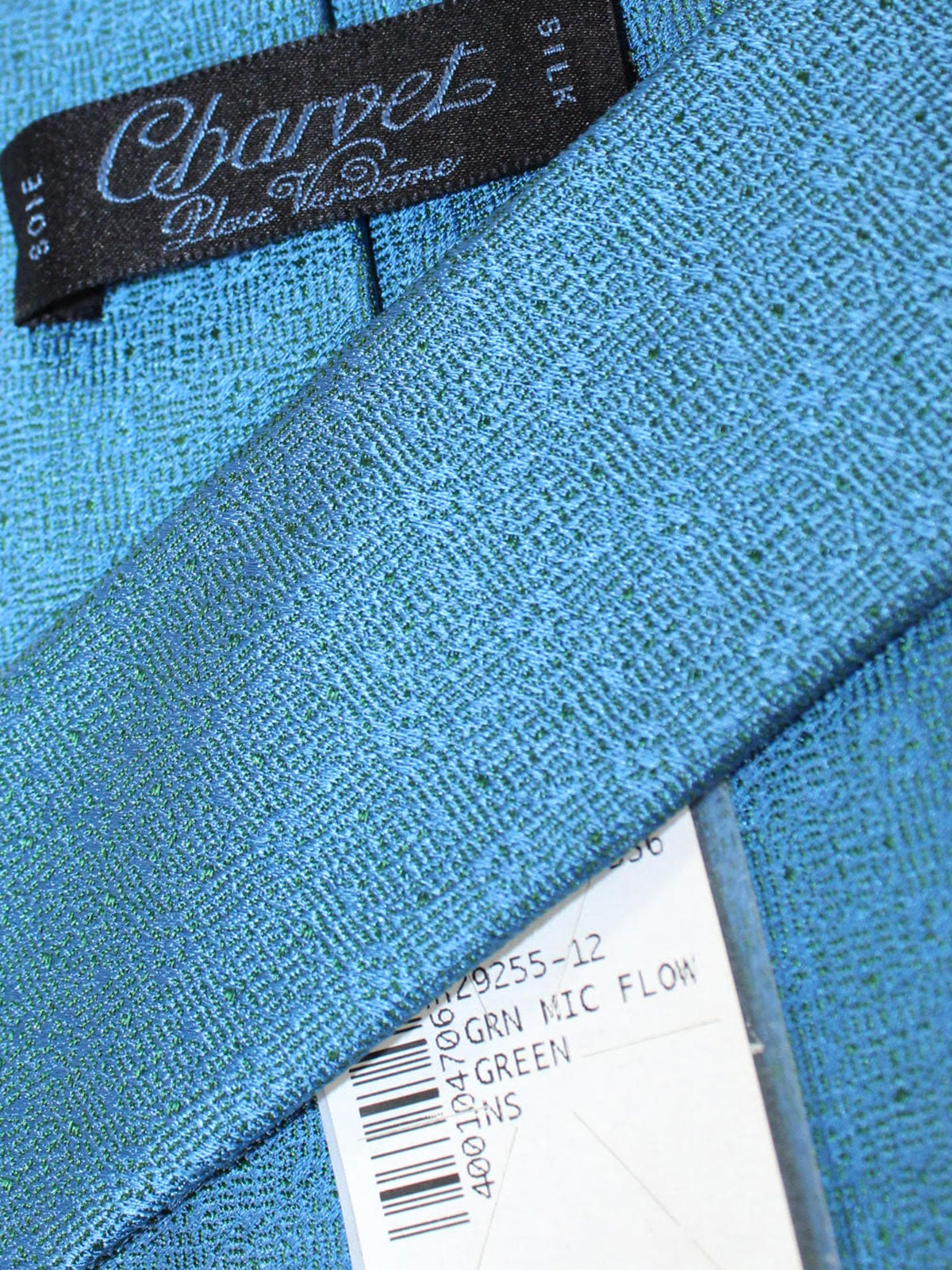 Charvet Paris Tie Blue Design