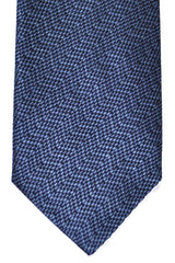 Corneliani Silk Necktie Midnight Blue