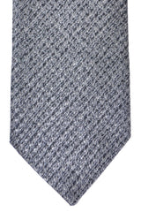 Corneliani Silk Necktie Charcoal Gray