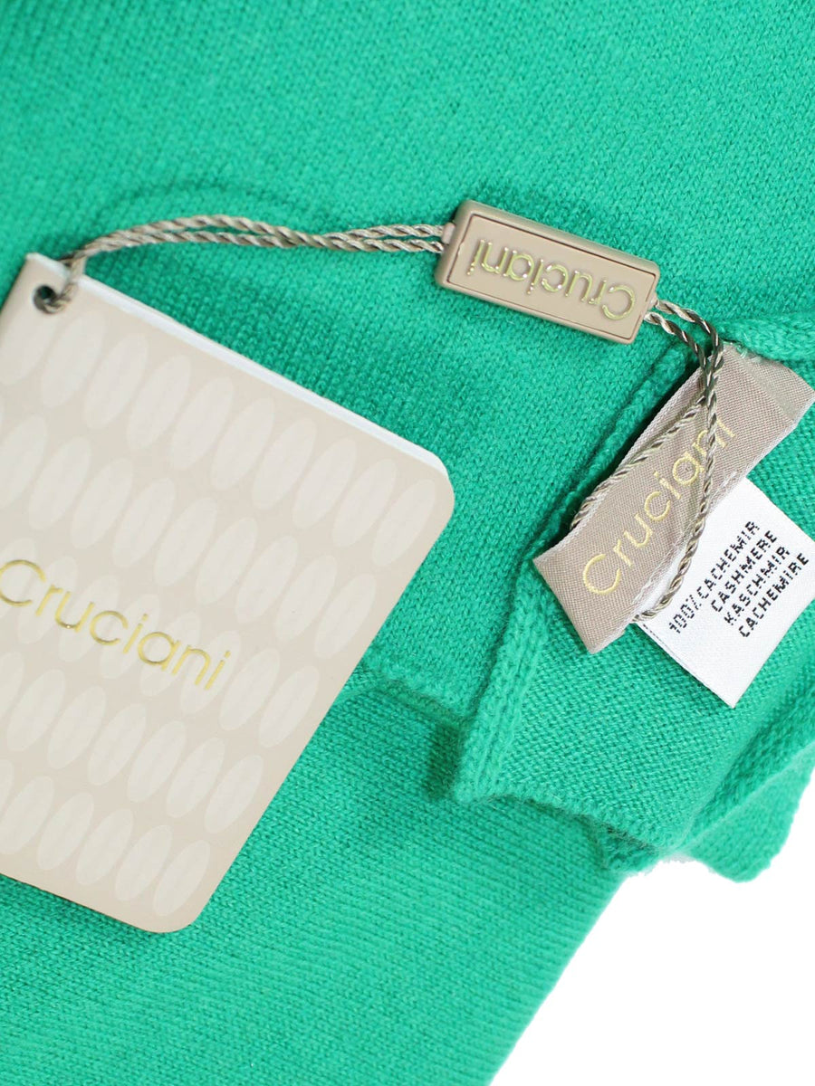 Cruciani Cashmere Scarf Solid Minty Green