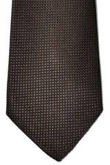 Davidoff Tie Solid Brown Design
