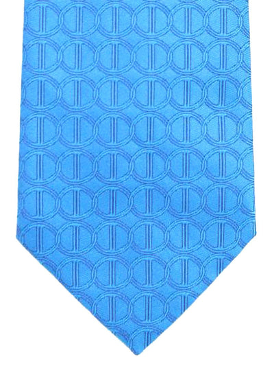 Davidoff Tie Royal Blue Geometric - Hand Made In Italy