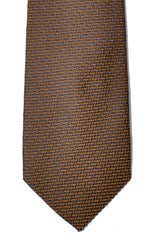 New Dolce & Gabbana Skinny Tie Brown Gray