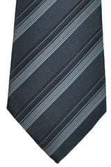 Dolce & Gabbana Tie Gray Stripes