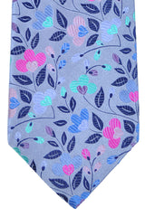 Duchamp Tie Lilac Multi-colored Floral