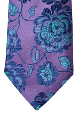 Duchamp Tie Pink Lilac Turquoise Floral