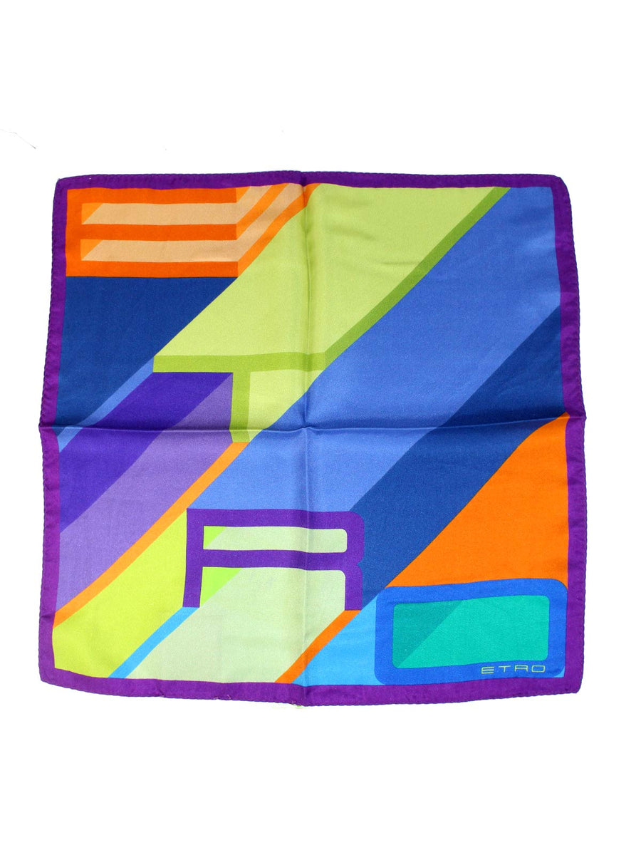 Etro Silk Pocket Square New