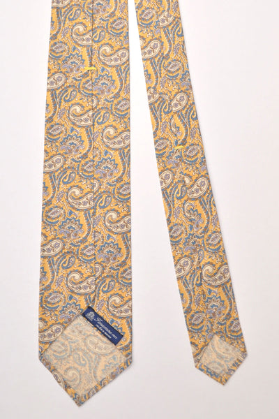 Finamore Unlined Sevenfold Ties