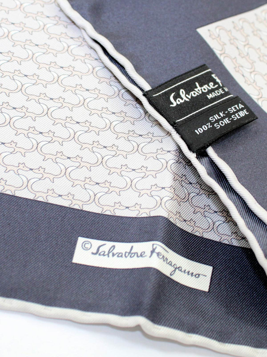Salvatore Ferragamo pocket squares