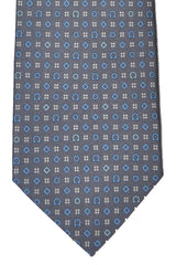 Salvatore Ferragamo Tie Gray Gancini Diamonds