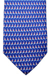 Salvatore Ferragamo Tie Navy Windsurfing Design SALE