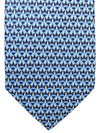 Salvatore Ferragamo Silk Tie Blue Novelty