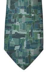 Salvatore Ferragamo Tie Green City