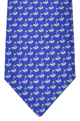 Salvatore Ferragamo Tie Navy Golf