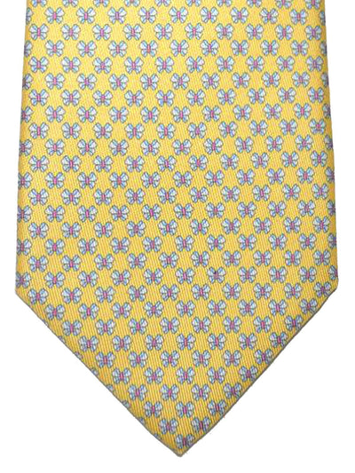 Salvatore Ferragamo Tie Yellow Butterfly - 2018 Collection