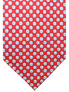Salvatore Ferragamo Tie Red Soccer Novelty SALE