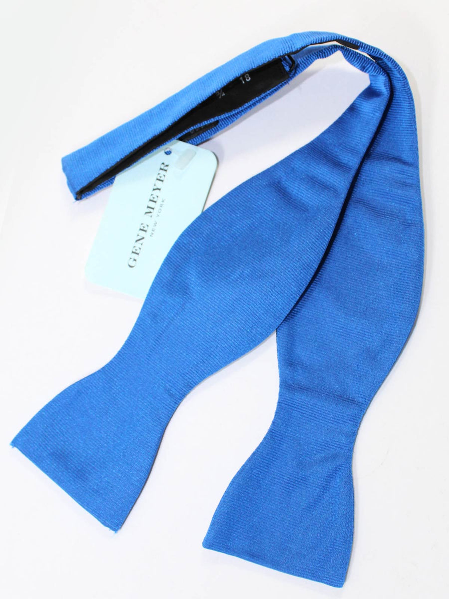 Gene Meyer Bow Tie Solid Royal Blue