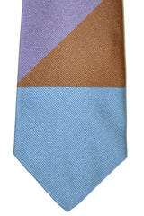 Gene Meyer Tie Blue Brown
