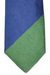 Gene Meyer Tie Purple Pink Green Design