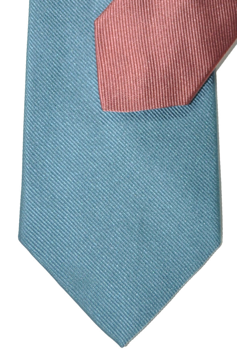 Gene Meyer Tie Powder Blue Pink FINAL SALE