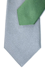 Gene Meyer Tie Green Gray Design