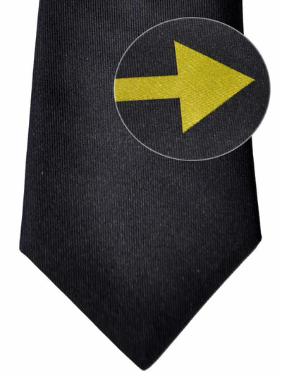 Gene Meyer Tie Black Olive Arrow SALE