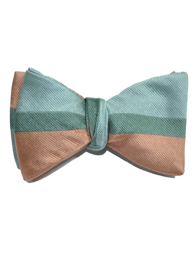 Gene Meyer Bow Tie Pink Powder Blue