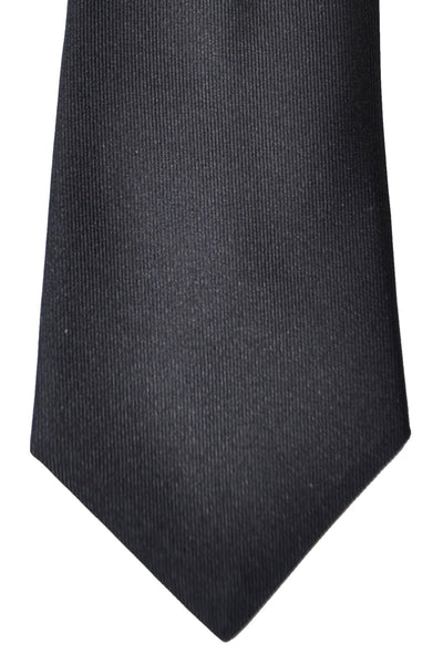 Gene Meyer Tie Black Olive Geometric