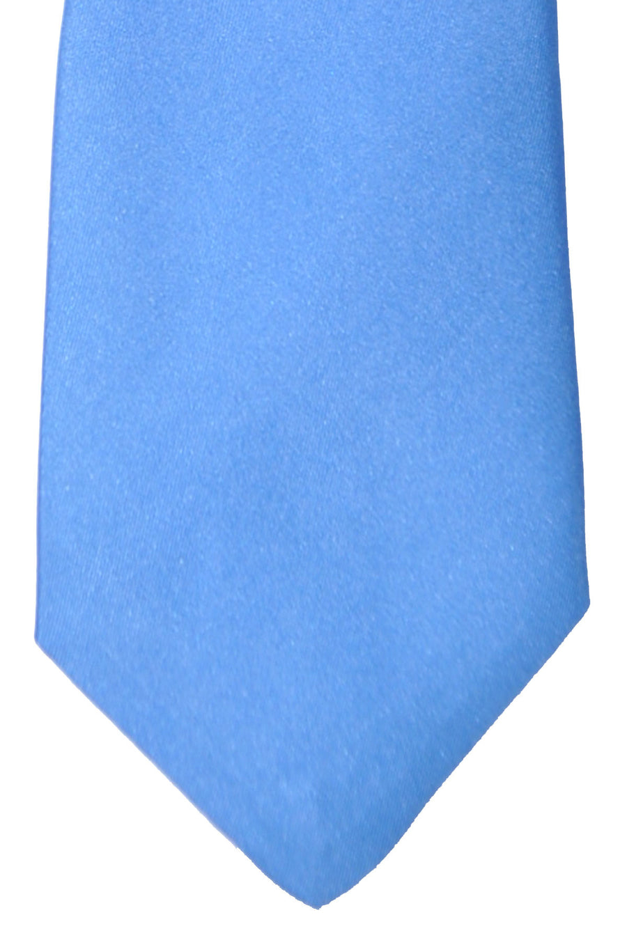 Gene Meyer Tie Blue Geometric Design