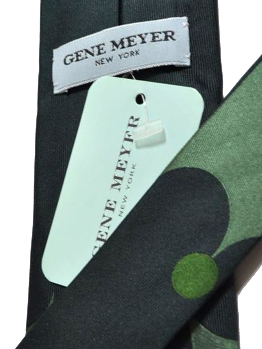 Gene Meyer Tie Green Design