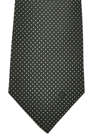 Givenchy Tie Black Silver Dots SALE