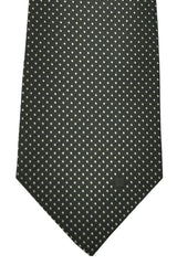 Givenchy Tie Black Silver Dots