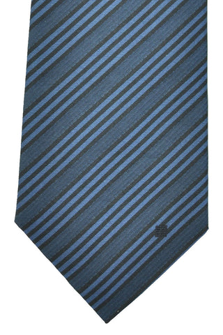 Givenchy Tie Navy Midnight Blue Stripes