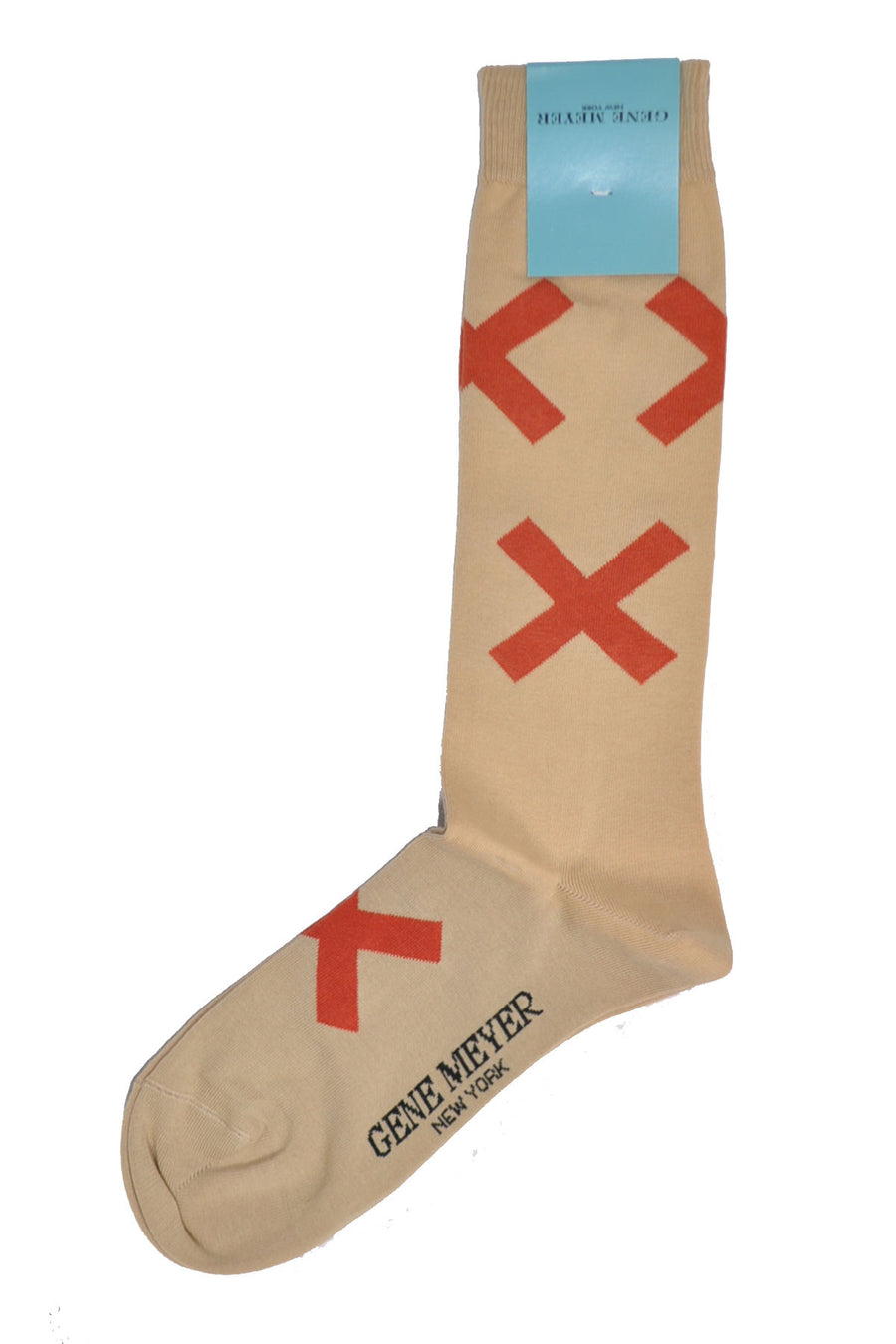 Gene Meyer Socks Beige Red Cross