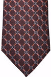 Gucci Tie Brown GG Logo New 2015/ 2016 Collection
