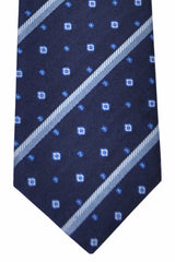 Gucci Tie Navy Stripes New 2015/ 2016 Collection