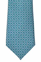 Gucci Tie Turquoise Geometric New 2015 / 2016 Collection