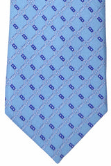 Gucci Necktie Sky Blue GG Logo New 2016 Collection