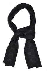 Scarf Gucci Black Gray