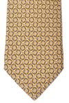 Gucci Tie Yellow Taupe Silver Horsebit
