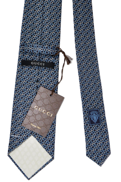 Gucci Tie Navy New