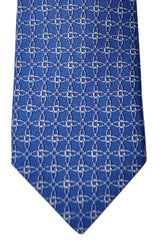 Gucci Tie Signature Blue Interlocking G