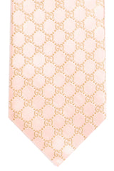 Gucci Tie Pink Signature GG Pattern