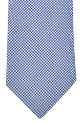 Hugo Boss Tie Silver Blue Navy - Narrow Tie
